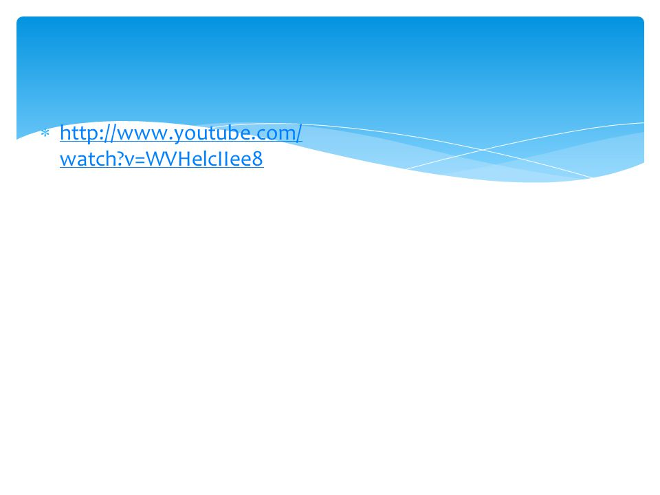 http://www.youtube.com/watch v=WVHelcIIee8