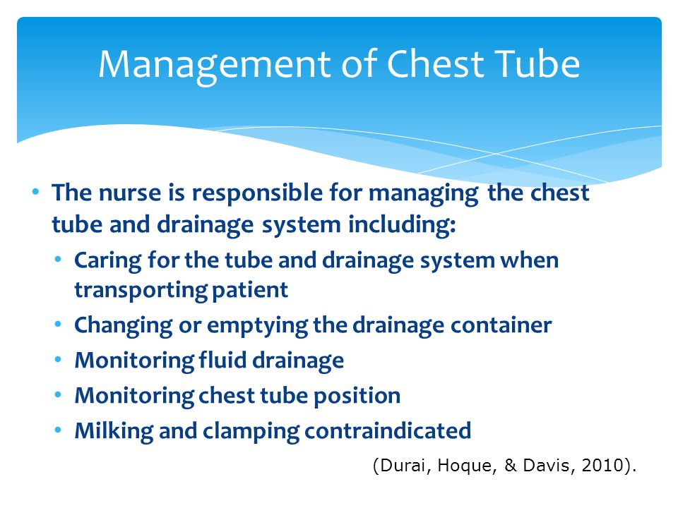 Chest Trauma Chest Tubes Amp Underwater Seal Drainage Ppt
