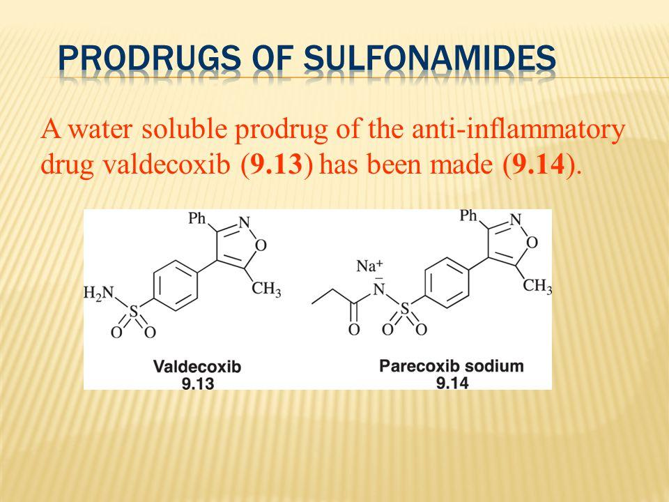 Prodrugs of Sulfonamides