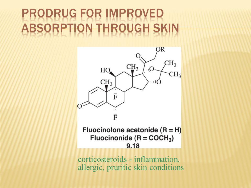 Prodrug for Improved Absorption Through Skin