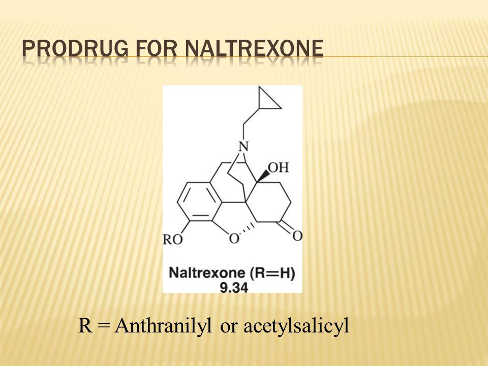 Prodrug FOR NALTREXONE