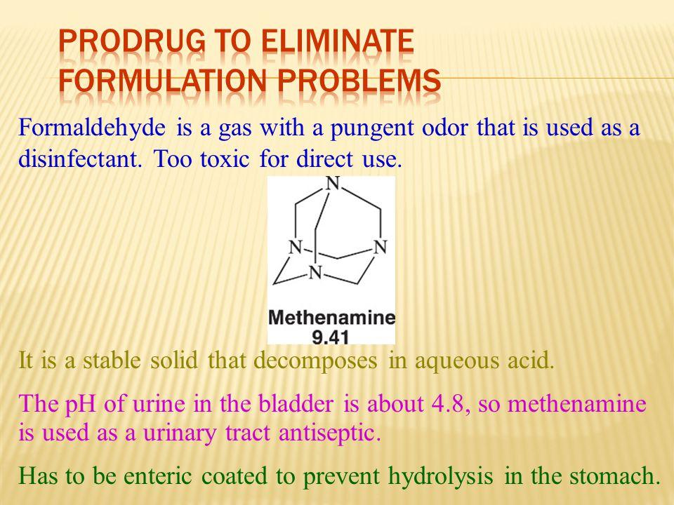 Prodrug to Eliminate Formulation Problems