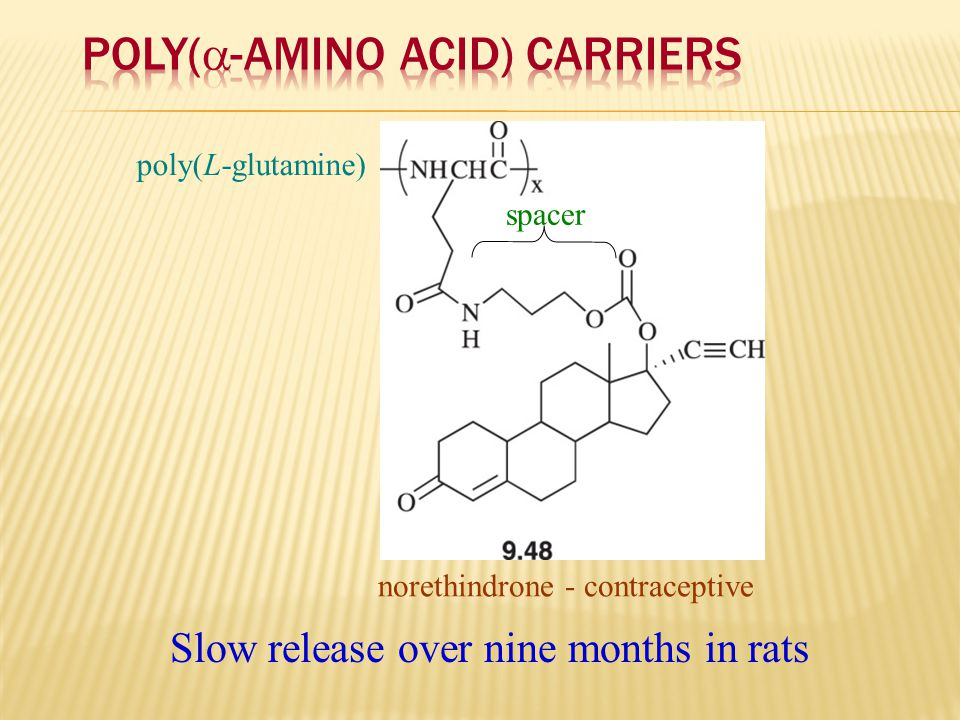 Poly(-Amino Acid) Carriers