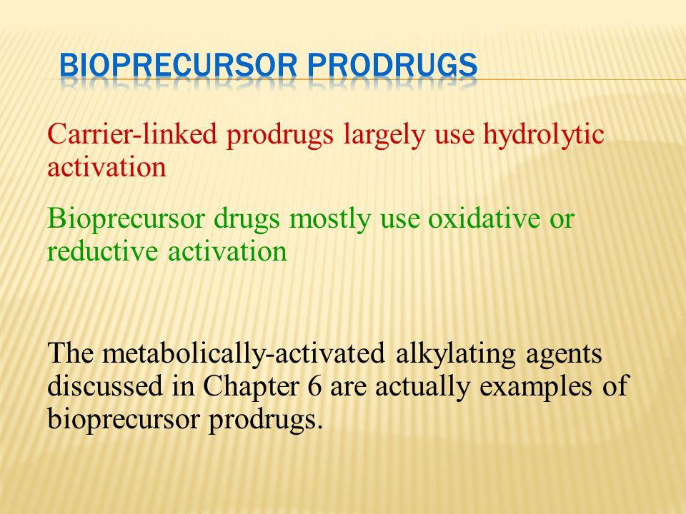Bioprecursor Prodrugs