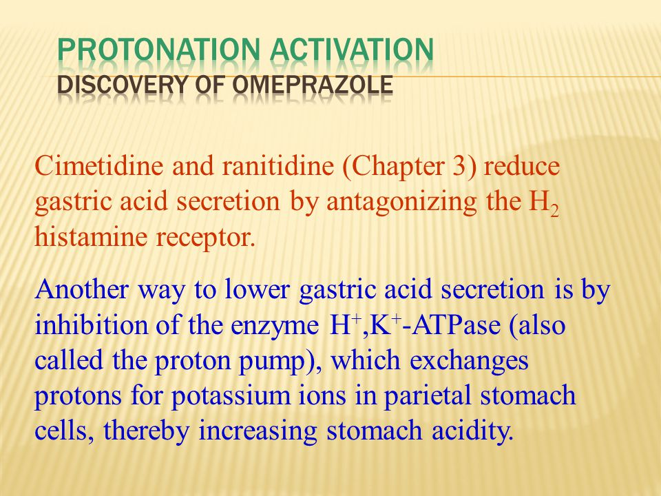 Protonation Activation Discovery of Omeprazole