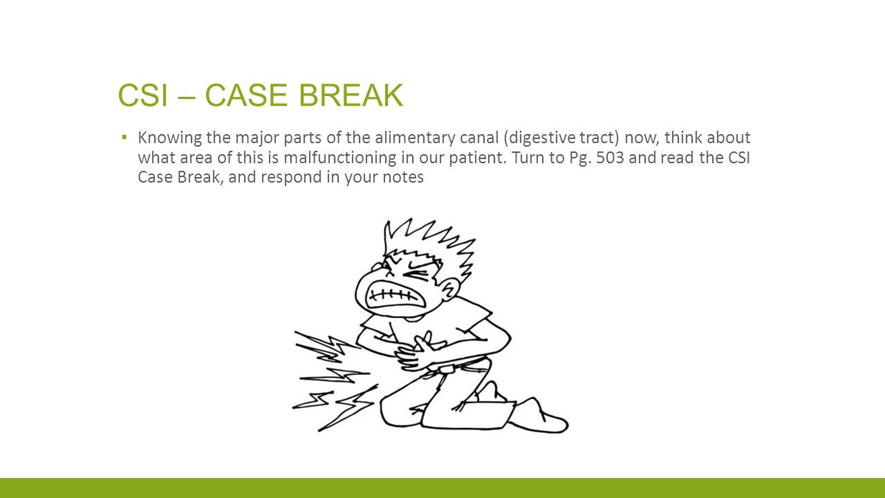 Csi – case break