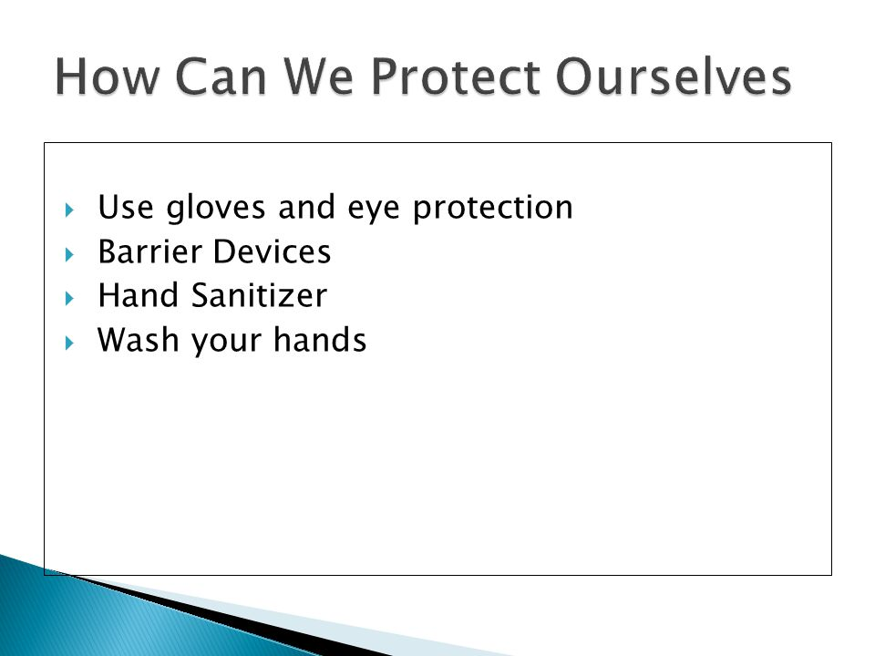 How Can We Protect Ourselves