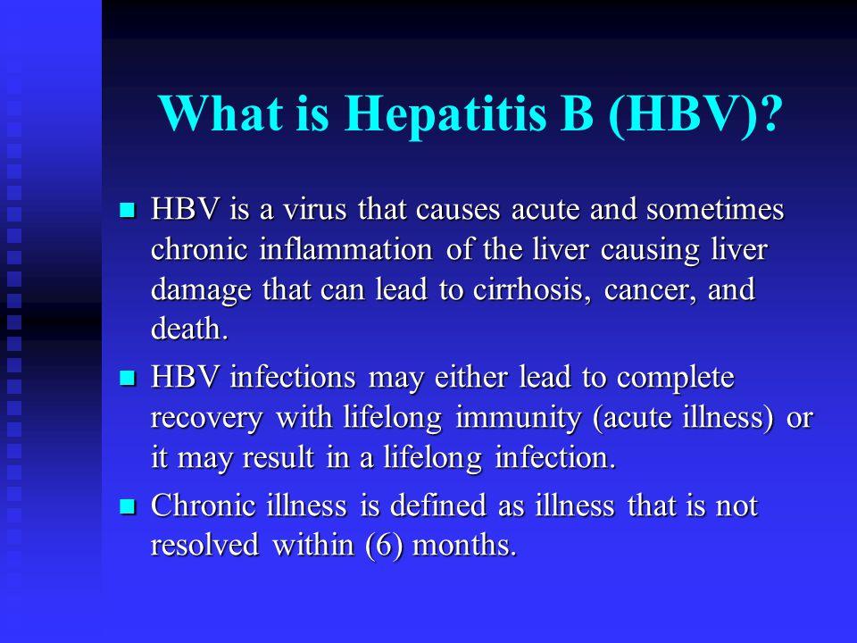 What is Hepatitis B (HBV)