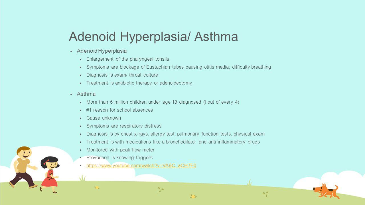 Adenoid Hyperplasia/ Asthma