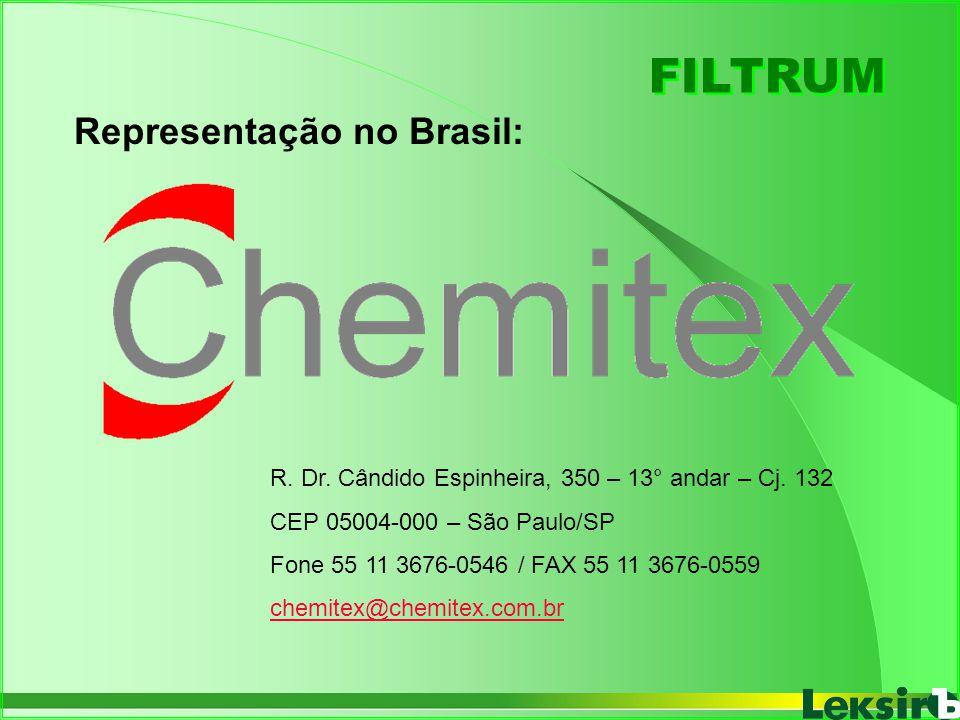 FILTRUM Representação no Brasil: