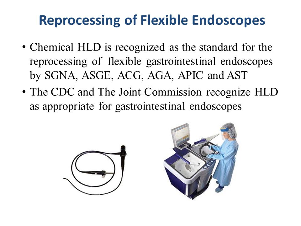Reprocessing of Flexible Endoscopes