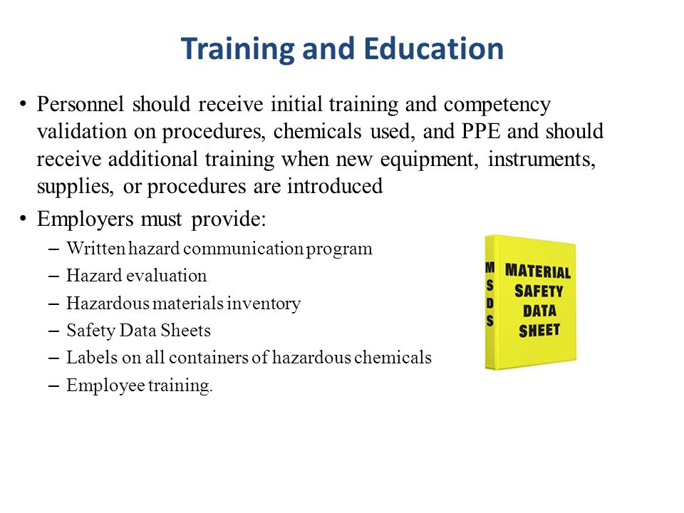 Training and Education