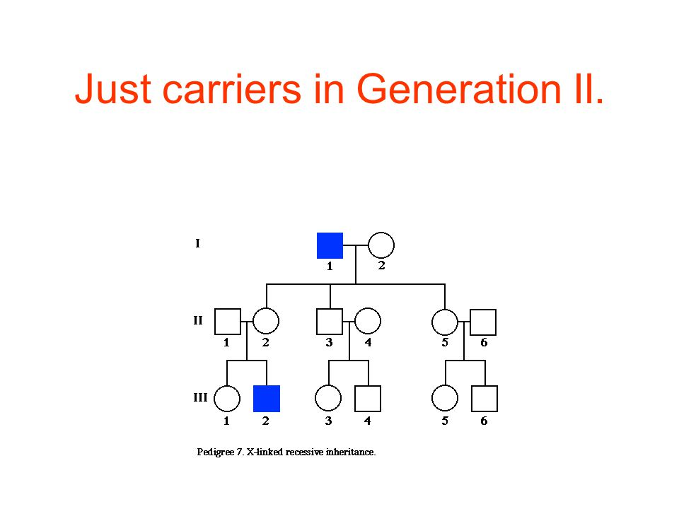Just carriers in Generation II.