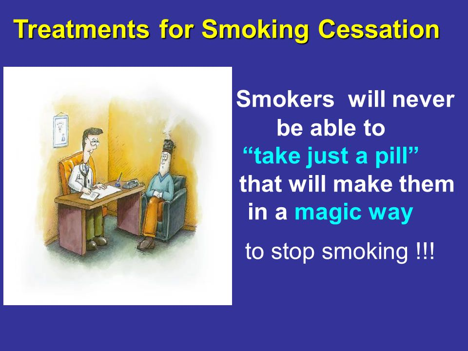 Treatments for Smoking Cessation