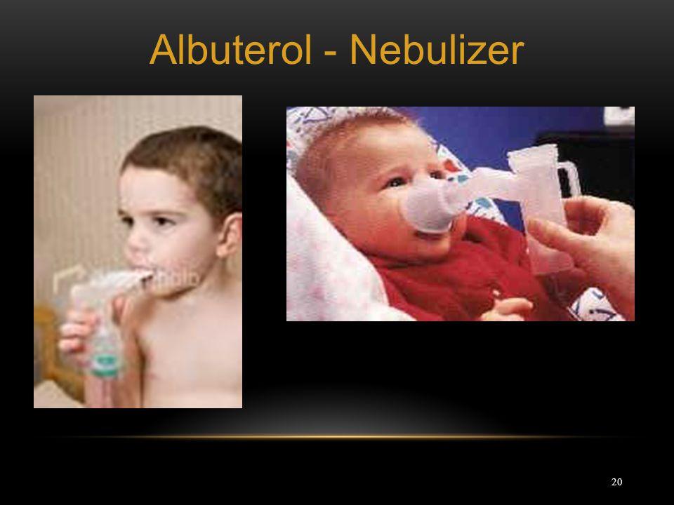 Albuterol - Nebulizer
