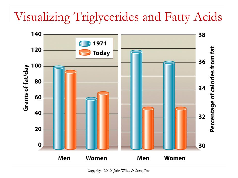 Visualizing Triglycerides and Fatty Acids