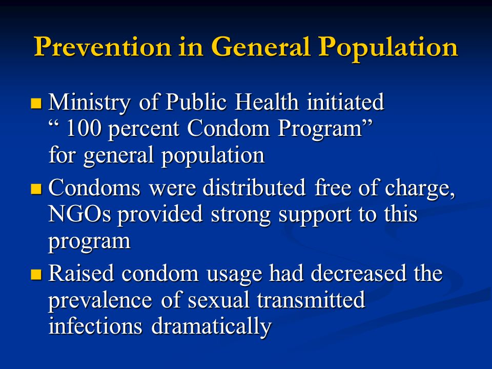 Prevention in General Population