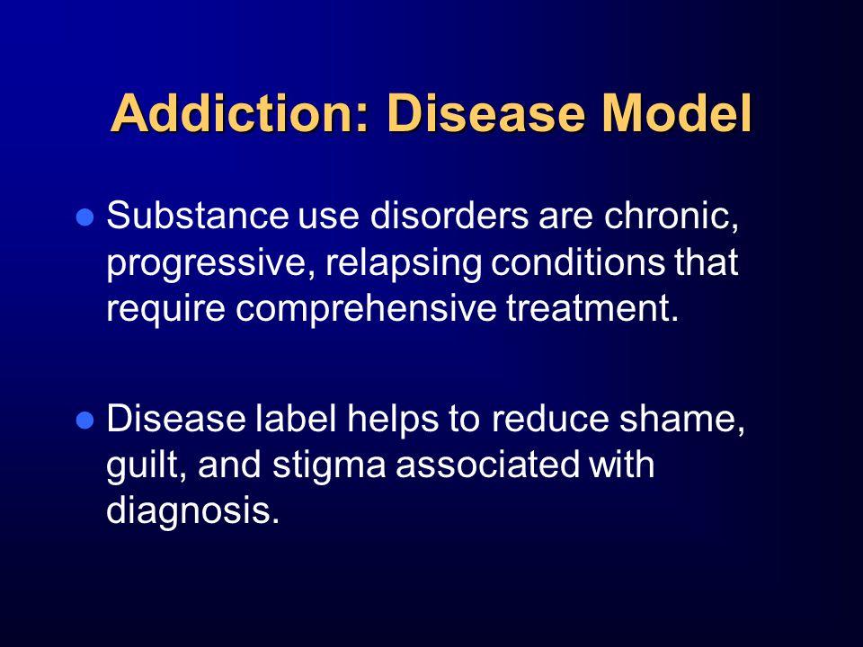 Addiction: Disease Model