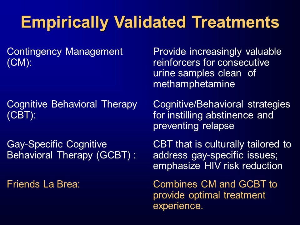 Empirically Validated Treatments
