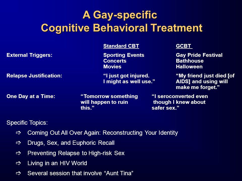 Cognitive Behavioral Treatment