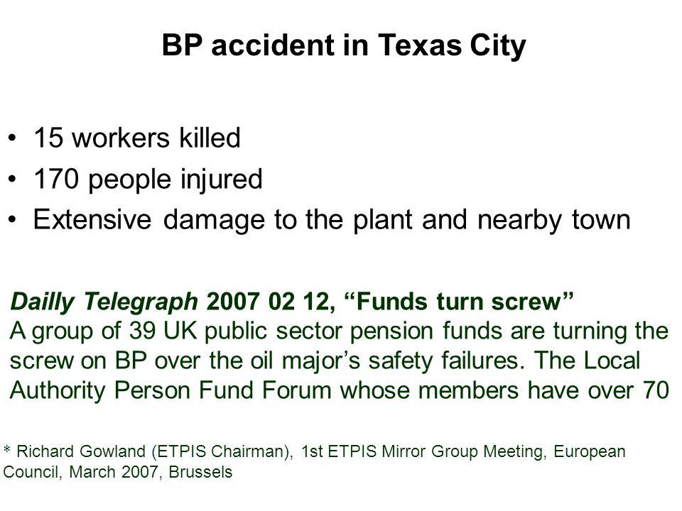 BP accident in Texas City