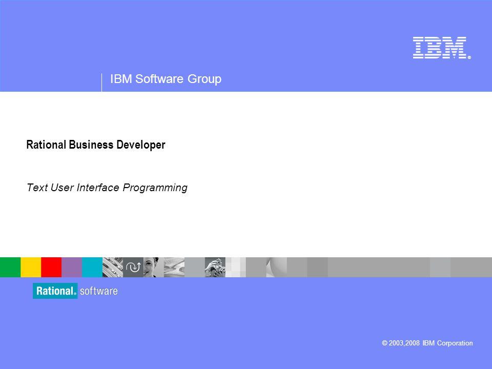 Rational Business Developer