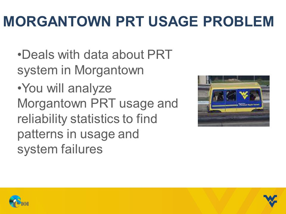 Morgantown PRT Usage Problem