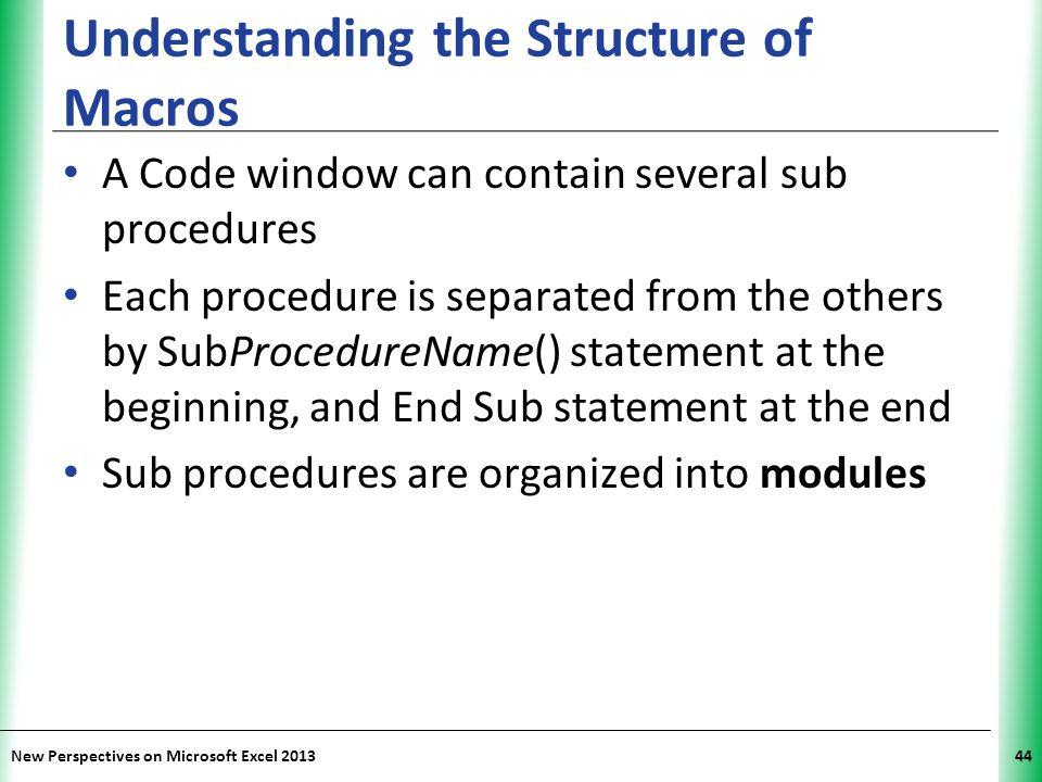 Understanding the Structure of Macros