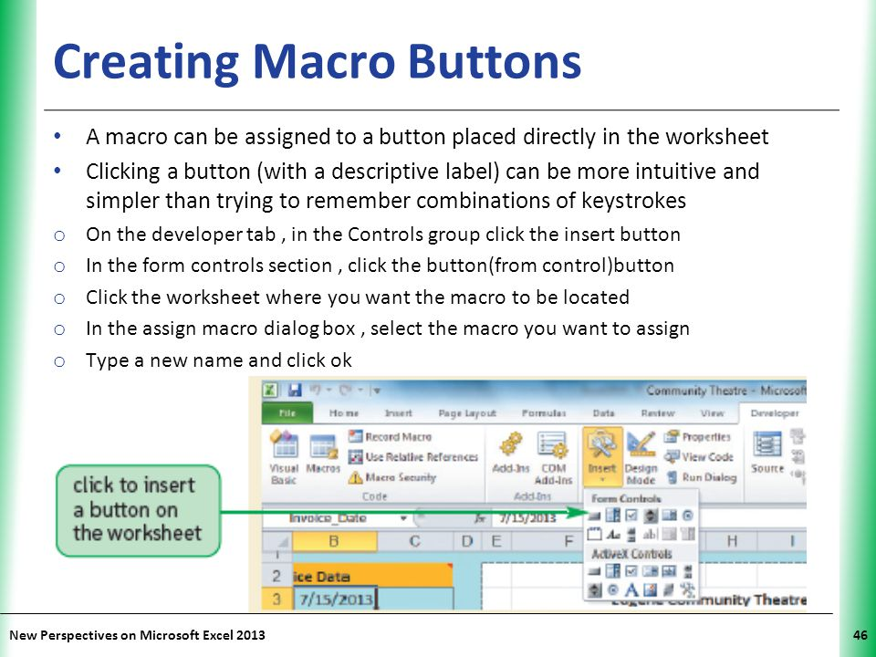 Creating Macro Buttons