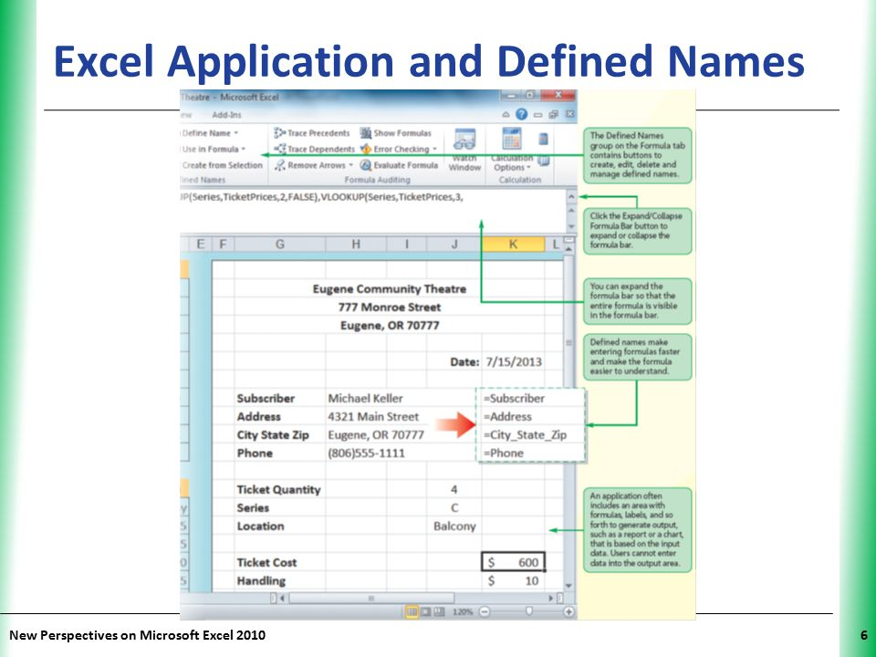 Excel Application and Defined Names