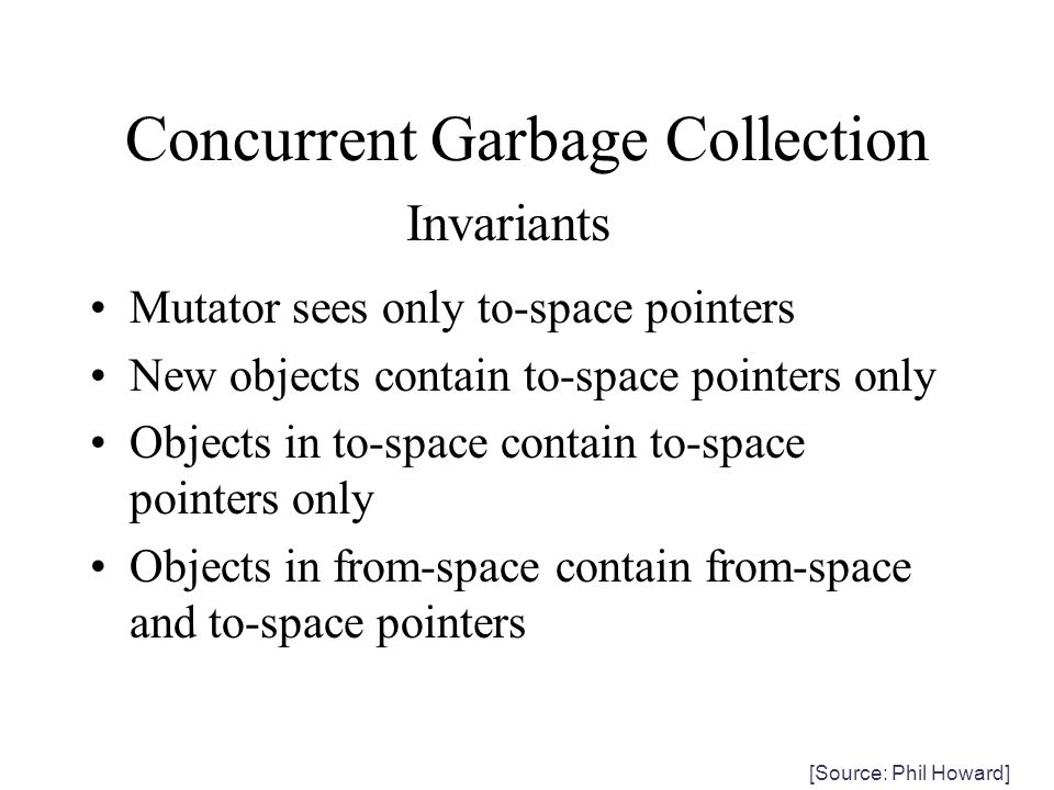 Concurrent Garbage Collection