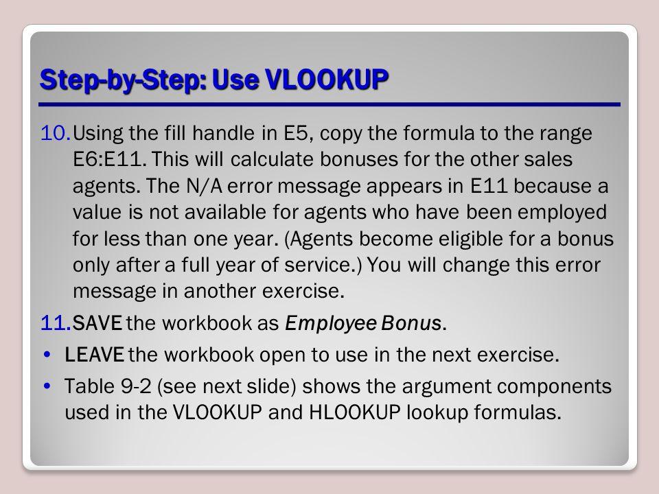 Step-by-Step: Use VLOOKUP