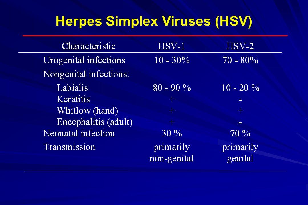 Herpes Simplex Viruses (HSV)