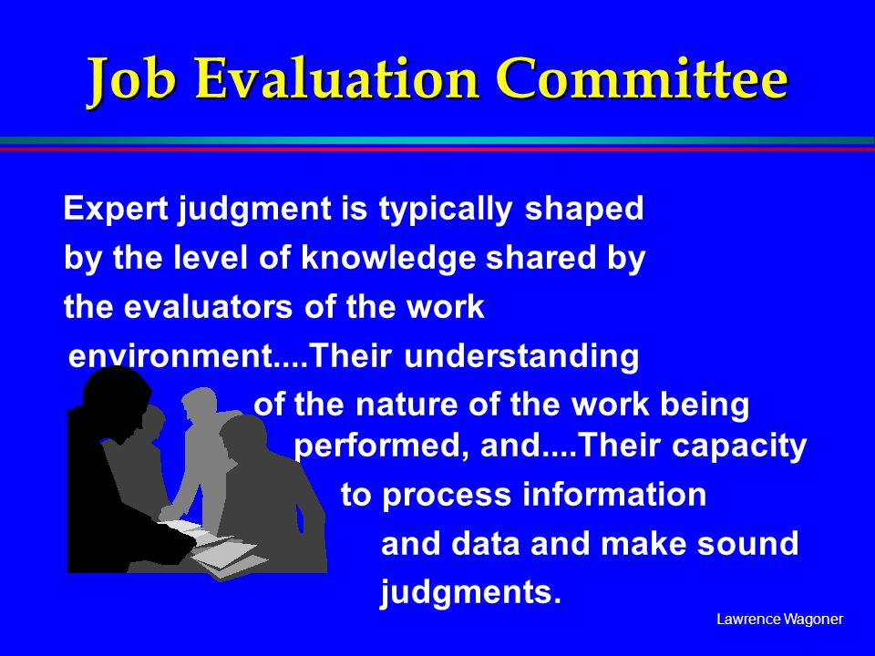 Job Evaluation Committee