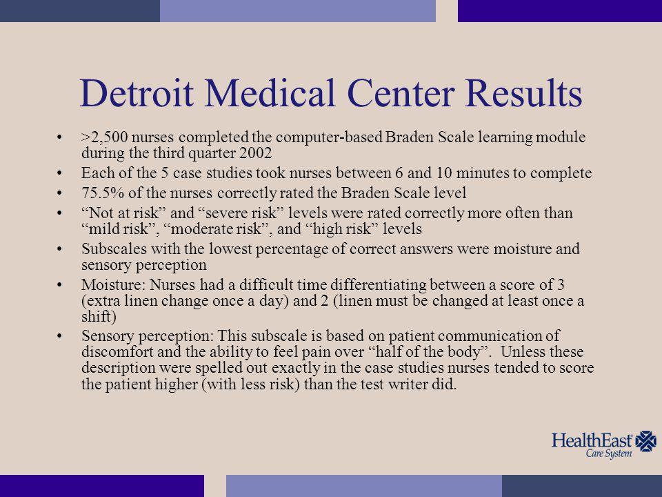 Detroit Medical Center Results
