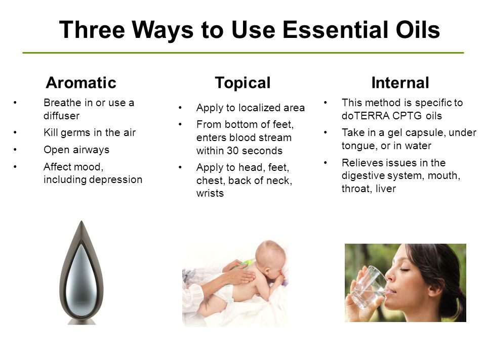Three Ways to Use Essential Oils