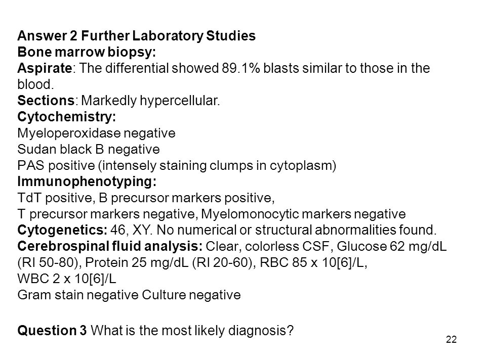 Answer 2 Further Laboratory Studies