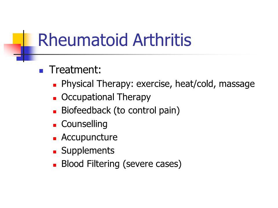 Rheumatoid Arthritis Treatment: