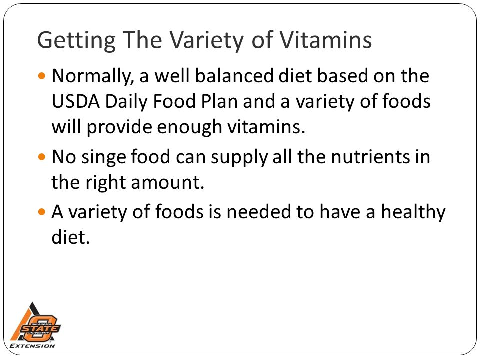 Getting The Variety of Vitamins