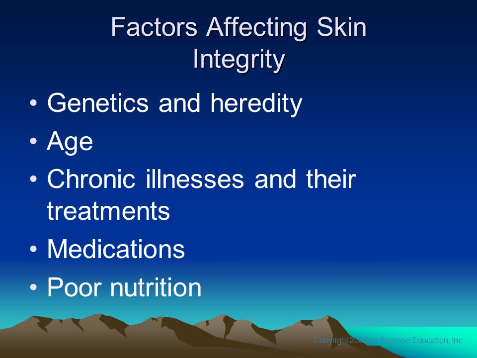 Factors Affecting Skin Integrity