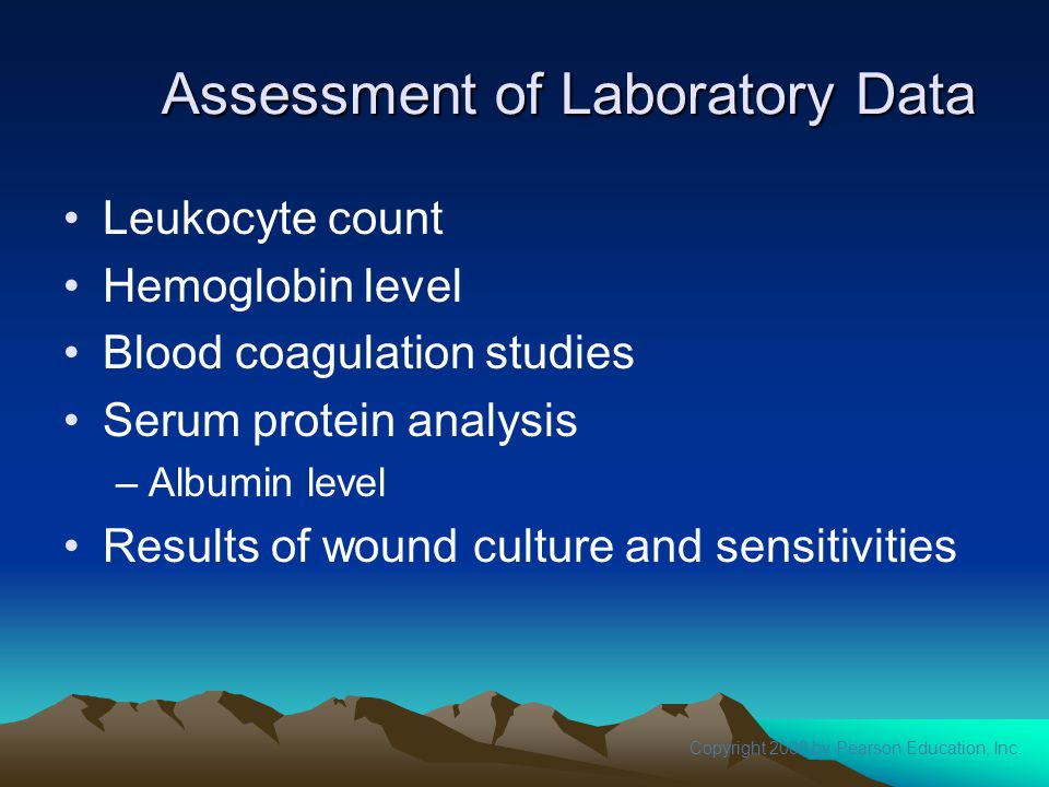 Assessment of Laboratory Data