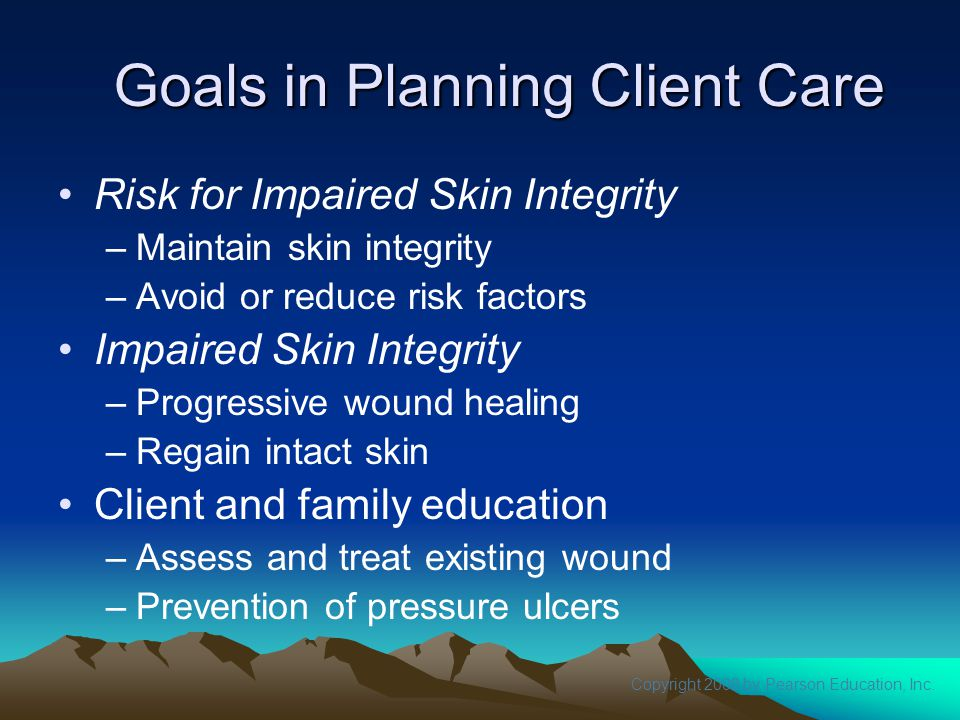 Goals in Planning Client Care
