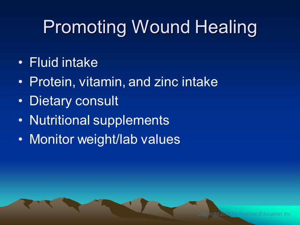 Promoting Wound Healing