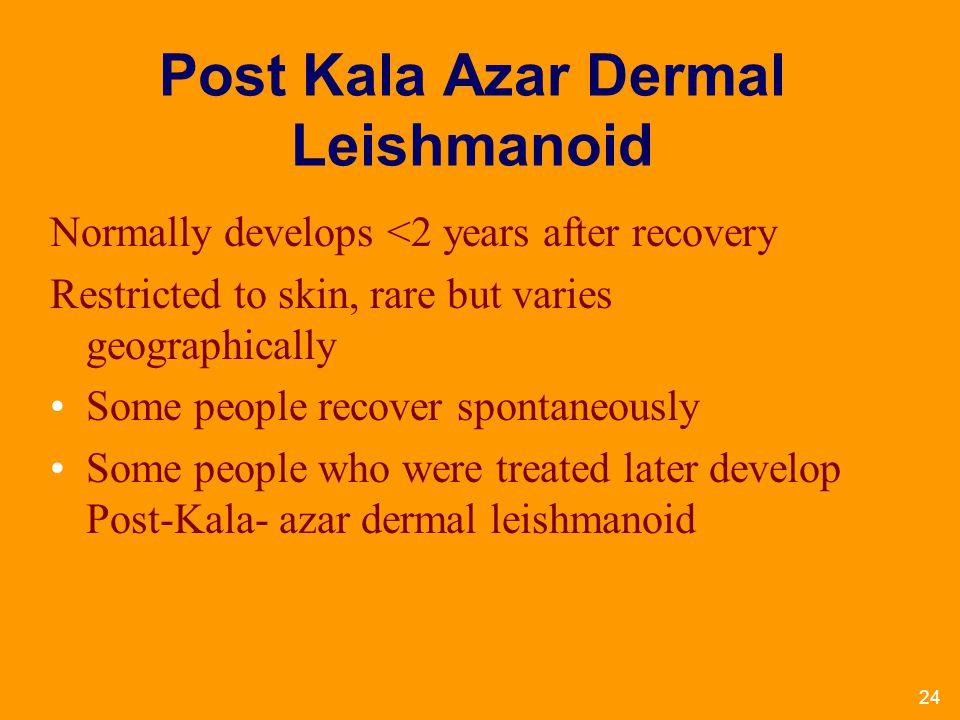 Post Kala Azar Dermal Leishmanoid