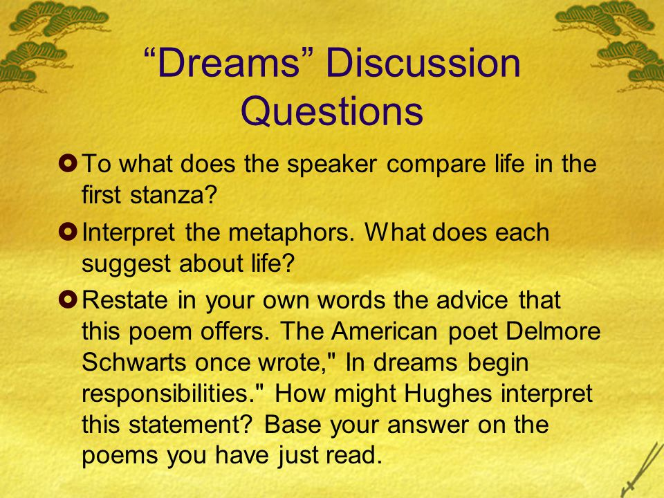 a literary analysis of dream deferred by langston hughes