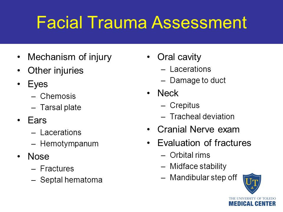 Facial Trauma Assessment