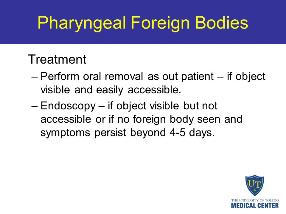 Pharyngeal Foreign Bodies