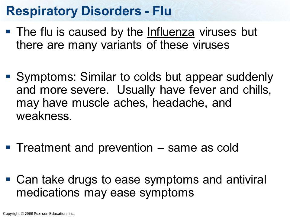 Respiratory Disorders - Flu