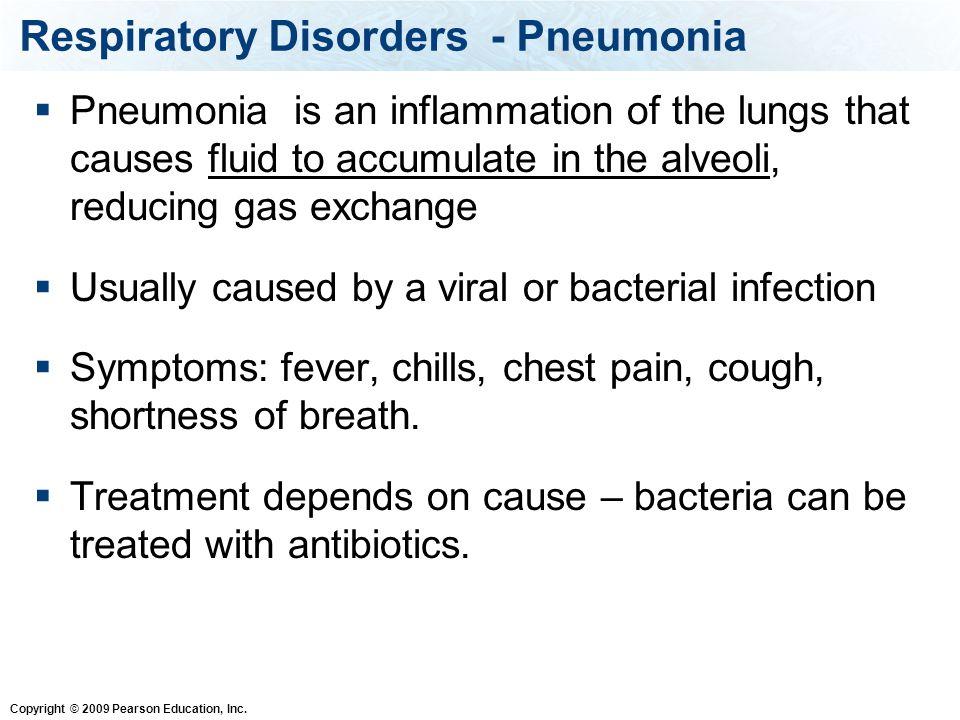 Respiratory Disorders - Pneumonia