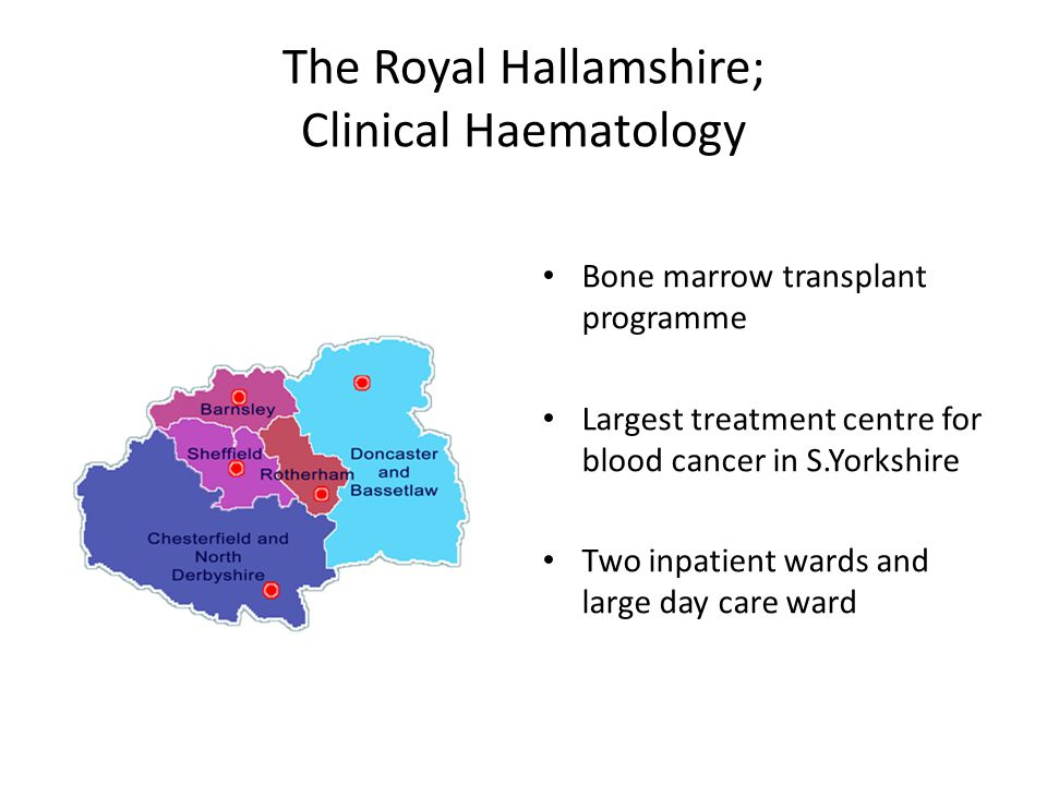 The Royal Hallamshire; Clinical Haematology